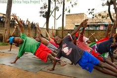 Vasisthasana: Ghetto Green Children's Home - Nairobi, Kenya