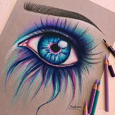 Hello everybody! here is another colorful eye! that was just a still arts another colorful everybody hello