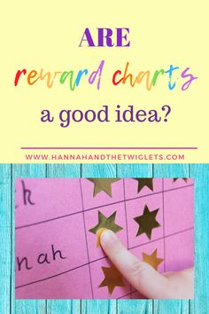 Are reward charts a good idea? Find out why I have some reservations about them even though they can be pretty successful! #hannahandthetwiglets #rewardcharts #parenting #discipline #positiveparenting Parenting Styles, Parenting Advice, Kids Sleep, Child Sleep, Kids Behavior, Child Behaviour, Goal Charts, Baby Sign Language, Attachment Parenting