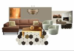 City home Living room moodboard by A-Interior Designs