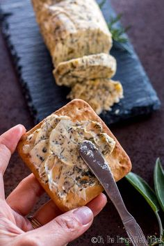 Learn to make several types of compound butter, sweet and savory flavored butters used to enhance meats and vegetable dishes, or as a tasty spread. Flavored Butter, Butter Pecan, Herb Butter, Compound Butter, Salad Bar, Culinary Arts, Vegetable Dishes, I Love Food, Tapas