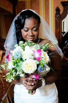 Baltimore Wedding Makeup Artist Jamaya Moore Photographer  Georgestreet Photography Natural Makeup for African American bride brown skin