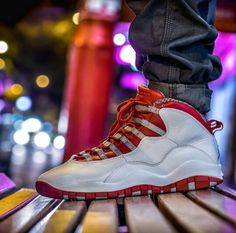 "Air Jordan 10 ""Cherry"" Kicks Shoes, Jordan 10, All About Shoes, Jordan Retro, Shoe Game, Reebok, Air Jordans, Addiction, Cherry"