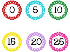 technology rocks. seriously.: Round Polka Dot Numbers