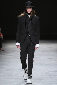 Excellent Male Model SS14 Paris Ann Demeulemeester
