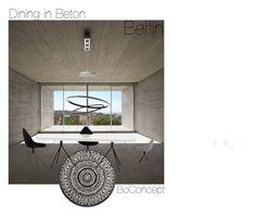 """Dining in Beton BoConcept / Berlin"" by bha-01 on Polyvore featuring interior, interiors, interior design, Zuhause, home decor und interior decorating"