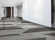 Interface carpet tile collection Vermont - Granite and Flagstone