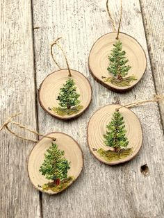 Personalized Painted Ornaments Tree Ornaments Personalized Rustic Christmas Or . Personalized Painted Ornaments Tree Ornaments Personalized Rustic Christmas Or Rustic Christmas Ornaments, Family Christmas Gifts, Christmas Wood, Christmas Crafts, Christmas Decorations, Modern Christmas, Xmas, Christmas Christmas, Hand Painted Ornaments
