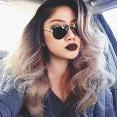 I'm obsessed with this ombre. I don't really know what sets it apart, but this specifically has me in love. -Heaven
