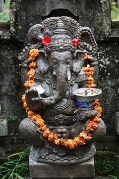 Ganesha also known as Ganapati and Vinayaka, is one of the best-known and most worshipped deities in the Hindu pantheon