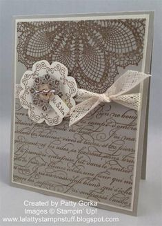Medallion Wedding by LaLatty - Cards and Paper Crafts at Splitcoaststampers