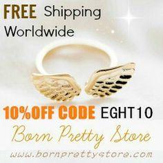 Codice sconto sul sito www.bornprettystore.com