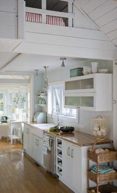 Cozinhas em L, com bancada
