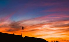 Gold and blue sky. For sale on my website. Sunset Sky, Sunset Photography, Time Of The Year, Skyline, Clouds, Website, Digital, Gold, Poster