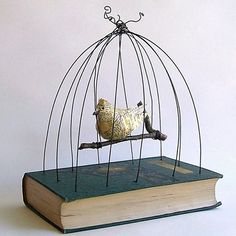[by #gatheredtogether on #etsy] I am going to adapt this to my own interests and make one. Awesome! Love book arts