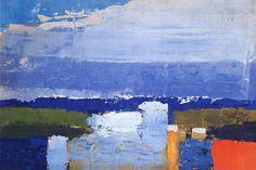 Nicolas de Stael. Noon landscape
