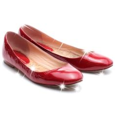 Marc Jacobs Red Patent Leather Ballet Flats The perfect pop of color! These bold red patent leather ballet flats are anything but boring!  comfort with these sleek shoes! Features include a round toe and a low stacked heel.  Condition: Previously Loved (Includes box) Signs of Love: Light wear on insoles and outsoles; Heel taps lightly worn down; Light marks on heels; Toes and back of heels lightly scuffed and scratched; Uppers have faint scuffs; Overall good condition. Insole: 10 in. Width…