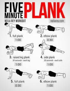 Work-out wednesday: planken - Sante.nl