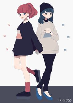 Find images and videos about girl and anime on We Heart It - the app to get lost in what you love. Character Inspiration, Character Art, Character Design, Pretty Art, Cute Art, Film Manga, Manga Kawaii, Friend Anime, Anime Lindo