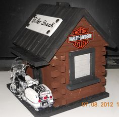 Harley Davidson Birdhouse - Google Search