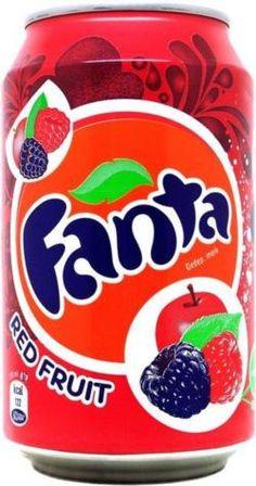 Fanta - Apple and Berries Kid Drinks, Summer Drinks, Coca Cola, Pepsi, Sleepover Food, Junk Food Snacks, Fanta Can, Food Combining, Food Humor