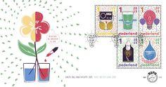 Wissenschaft auf Briefmarken der Niederlande