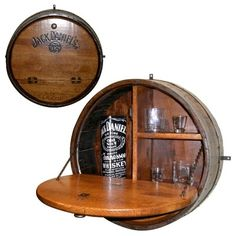 The Jack Daniel's Store: Product: Barrel Wall Bar