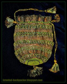 Ottoman Purse for Gold Coins