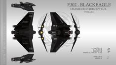 F-302B Black Eagle Class Fighter/Interceptor