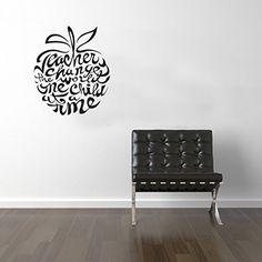 cef30d04feb Teachers Change The World Wall Sticker Vinyl Transfer Decal 600 x 500mm:  Amazon.co.uk: Kitchen & Home