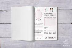 Gästebuch für eine Hochzeit. Office Supplies, Notebook, Design, Clouds, Wedding, Kids, The Notebook, Exercise Book