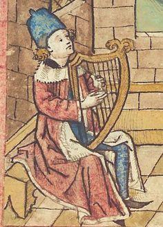 Antonius <von Pforr> Buch der Beispiele — Schwaben, um 1480/1490 Cod. Pal. germ. 85 Folio 13v