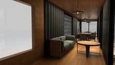 Next Container // Lokma on Behance Building A Container Home, Container Buildings, Container Architecture, Container House Plans, Container Shop, Container House Design, Small House Design, Modern House Design, Shipping Container Cafe