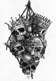 Skull & crowns