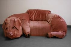 Hillhock - Domestic Pig Couch & Sculpture. $350.00, via Etsy.  <-- So, who would put this in their home?