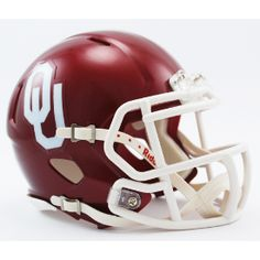 Old Ghost Collectibles - Oklahoma Sooners NCAA Riddell Mini Speed Football Helmet, $21.99 (http://www.oldghostcollectibles.com/oklahoma-sooners-riddell-mini-speed-football-helmet/)