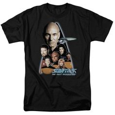Star Trek/The Next Generation-S/S Adult 18/1 - Black