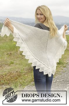 Ravelry: 157-22 White Swan pattern by DROPS design