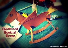 Cardboard Rocking Horse (template Included)