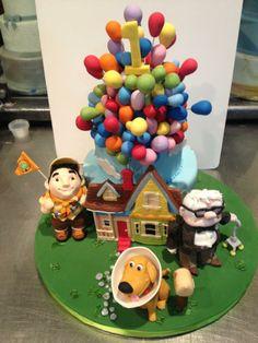 "Sam Lucero-Cake artist , Pixar ""UP' 3-D cake"
