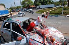 Canadauence TV: Cristiano Araújo, Veja um acidente sem o cinto de ...