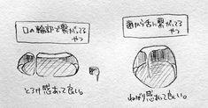 つくね on - Back Drawing Body Poses, Body Reference Drawing, Anime Poses Reference, Manga Drawing Tutorials, Drawing Tips, Art Tutorials, Mouth Drawing, Drawing Base, Anime Drawings Sketches