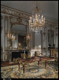 a beautiful execution of the 18th century french decorative style from the Metropolitan Museum of Art.