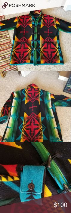 I just added this listing on Poshmark: Pendleton Indian Blanket Jacket. #shopmycloset #poshmark #fashion #shopping #style #forsale #Pendleton #Jackets & Blazers