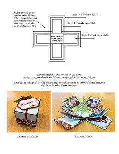Explosion box instructions