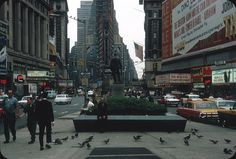 Times Square, New York City – 1964 | by ElectroSpark