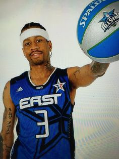 Allen Iverson In A 2010 NBA All Star Game