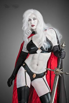 Lady Death cosplay - really? Who would fight in that?