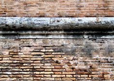 2000-year-old wall, Rome.