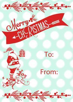 Christmas Gift Tags Pinterest.Pinterest